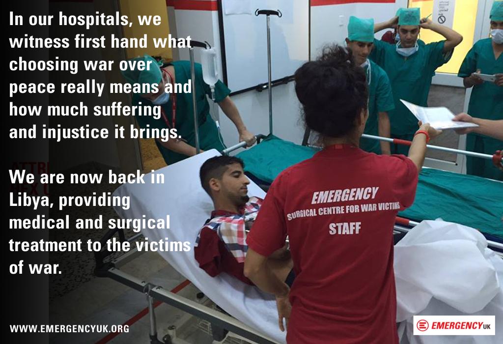 EMERGENCY OPENS HOSPITAL IN LIBYA