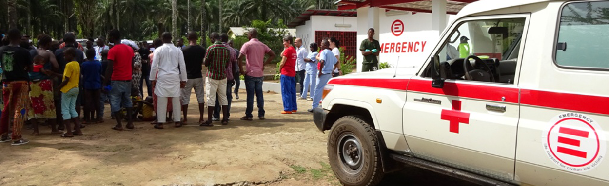 SIERRA LEONE: New First Aid Post In Lokomasama