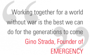 How did you help us in 2015 - Gino Strada Quote