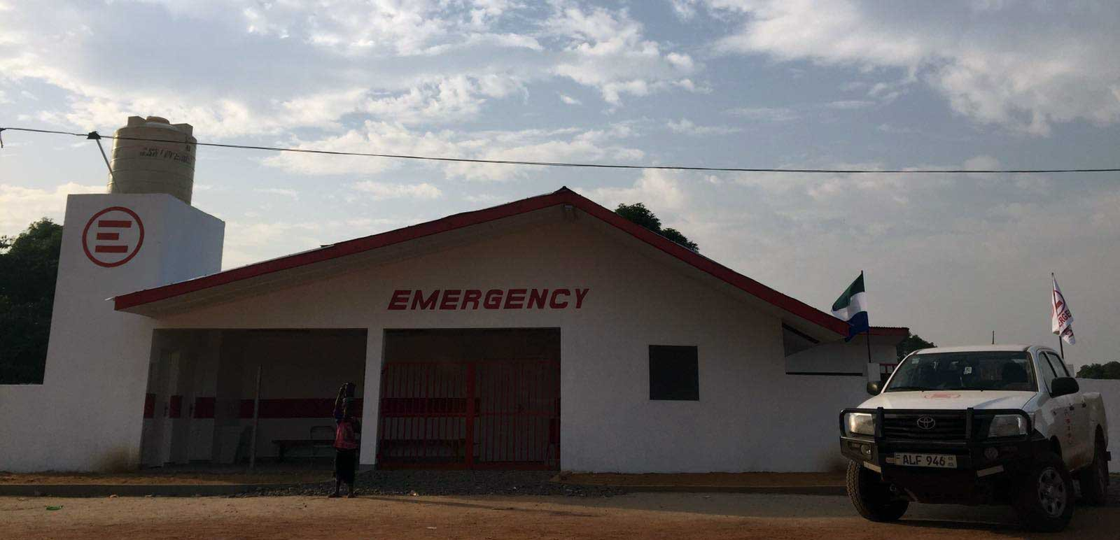 SIERRA LEONE: New First Aid Post Opens!