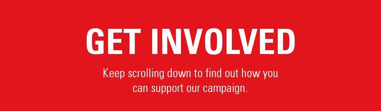 Get involved banner