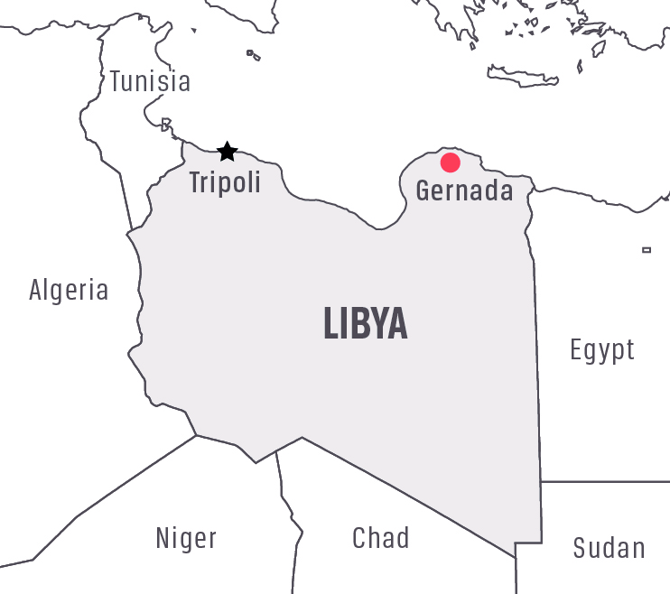 Libya: EMERGENCY Suspends Gernada Operations