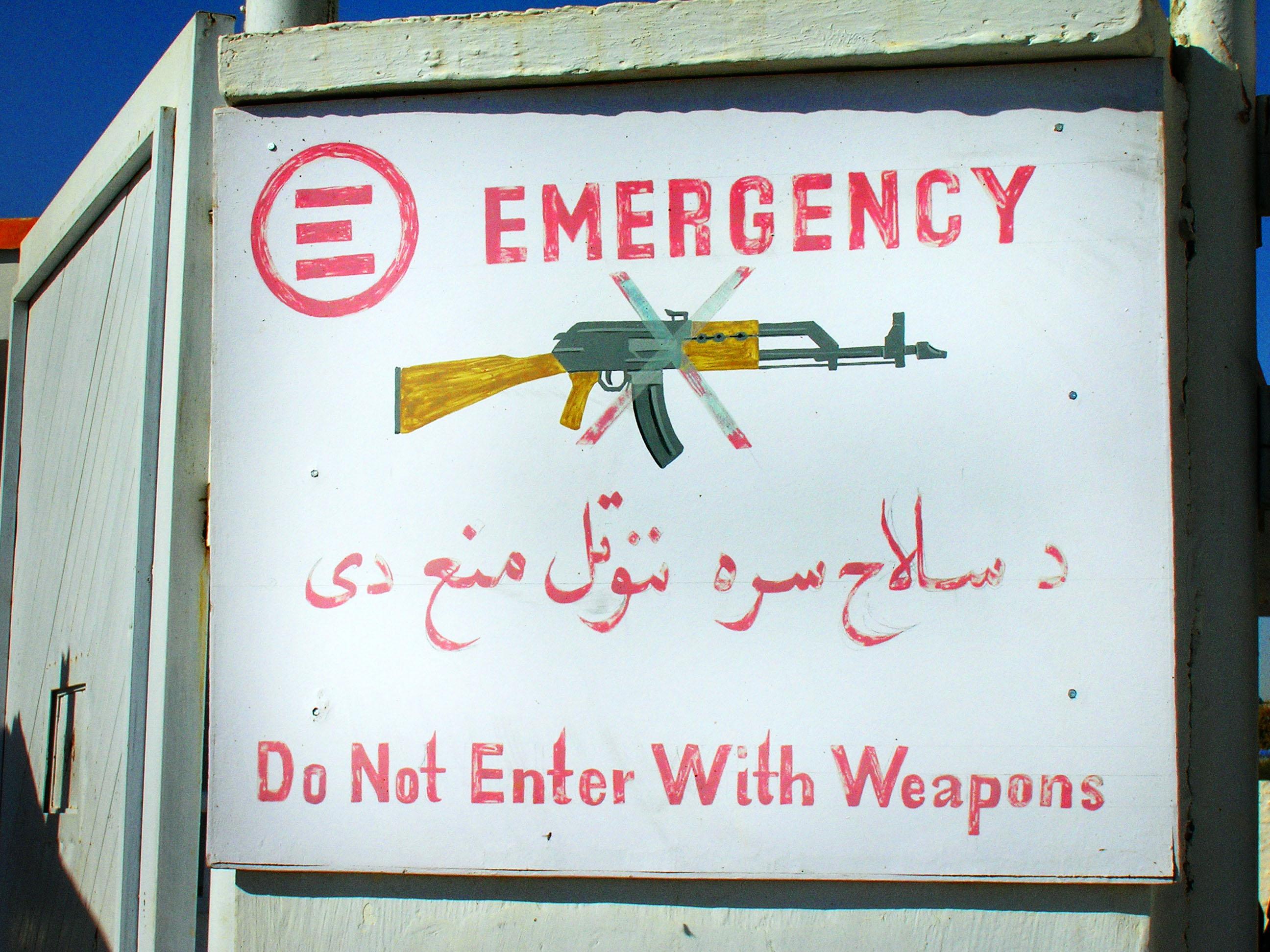 Afghanistan: Nurse Roberto Writes From Lashkar-Gah