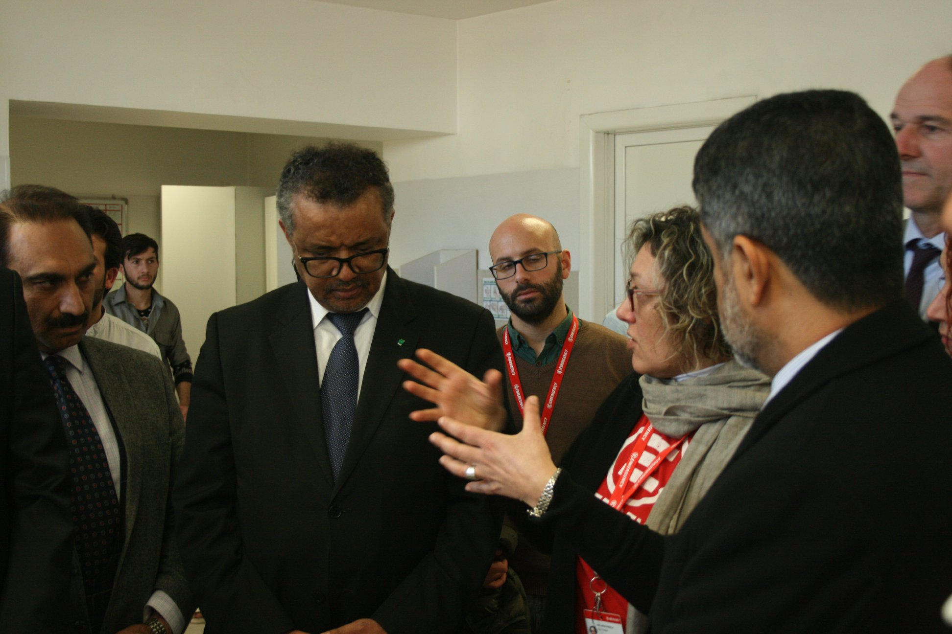 Afghanistan: WHO Director-General Visits The Surgical Centre For War Victims In Kabul