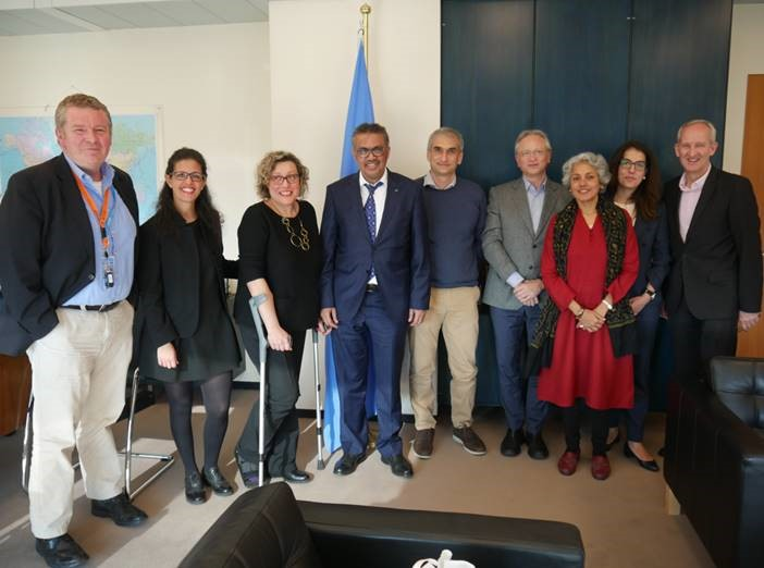 EMERGENCY Meets With WHO Director-General In Geneva