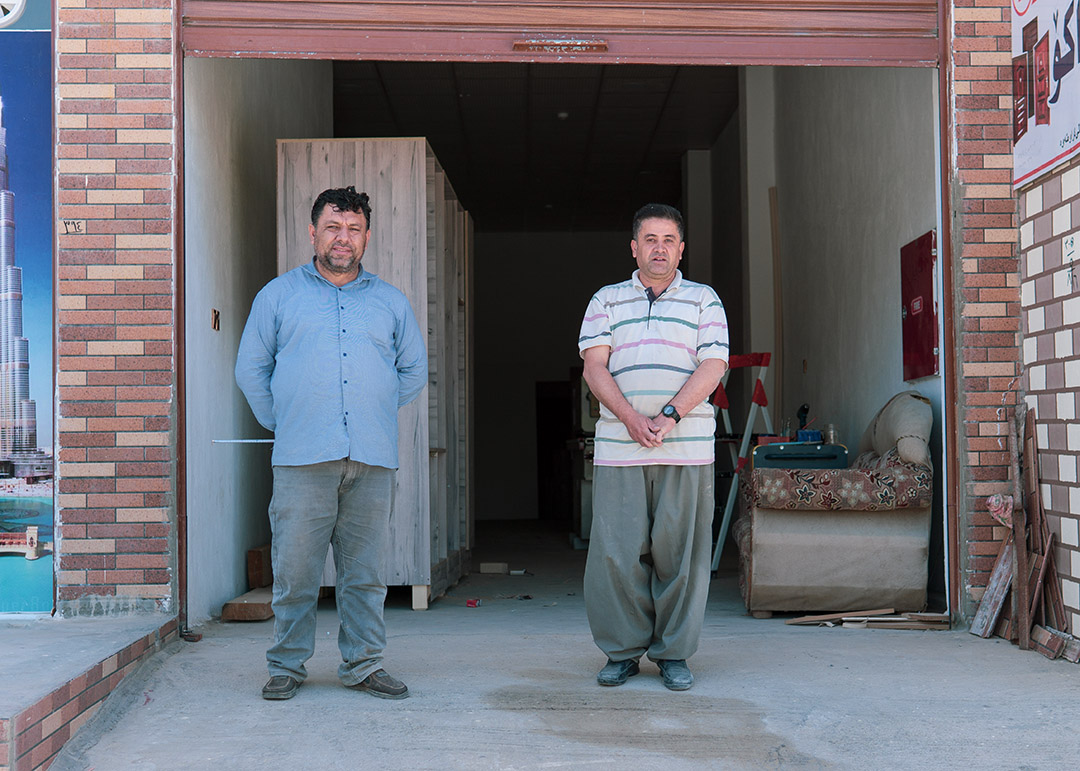 Iraq: These Two Have Stared The Same War In The Face