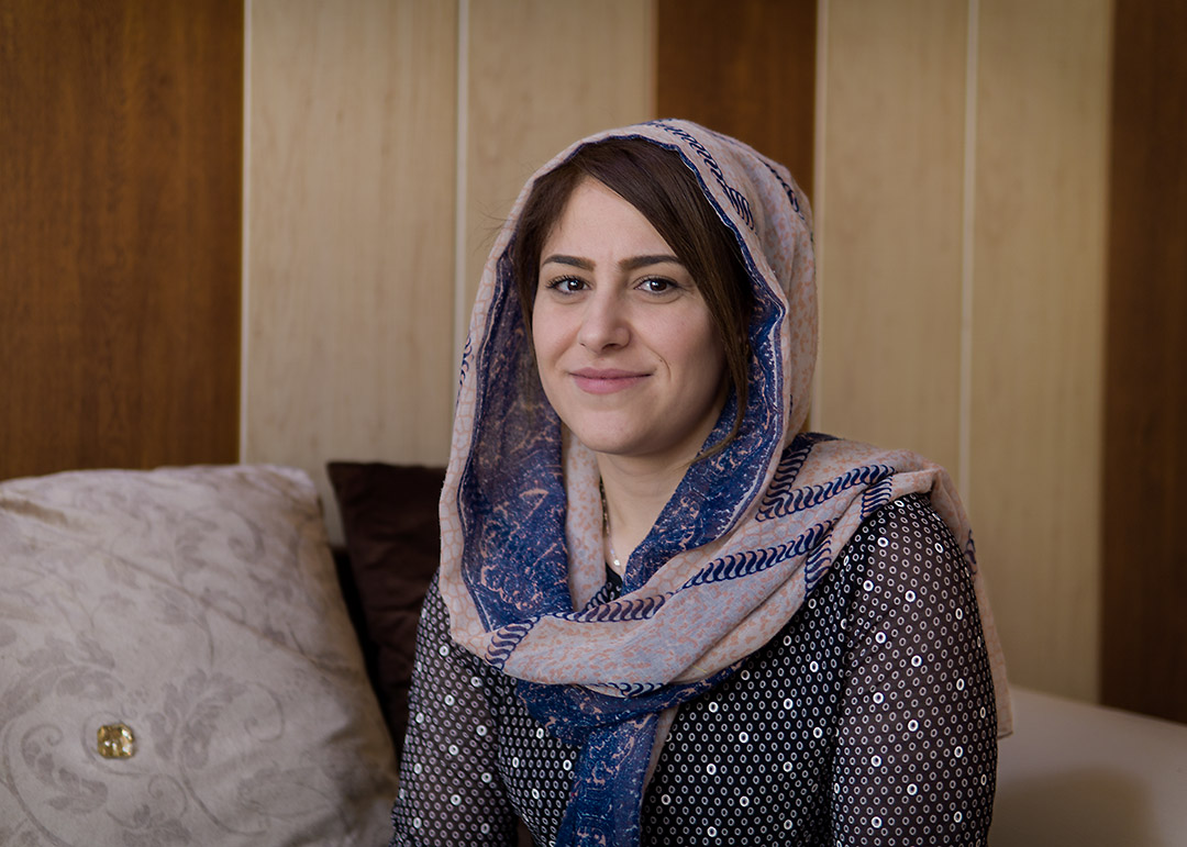 "Iraq: ""IT'S REALLY TURNED MY LIFE AROUND"""