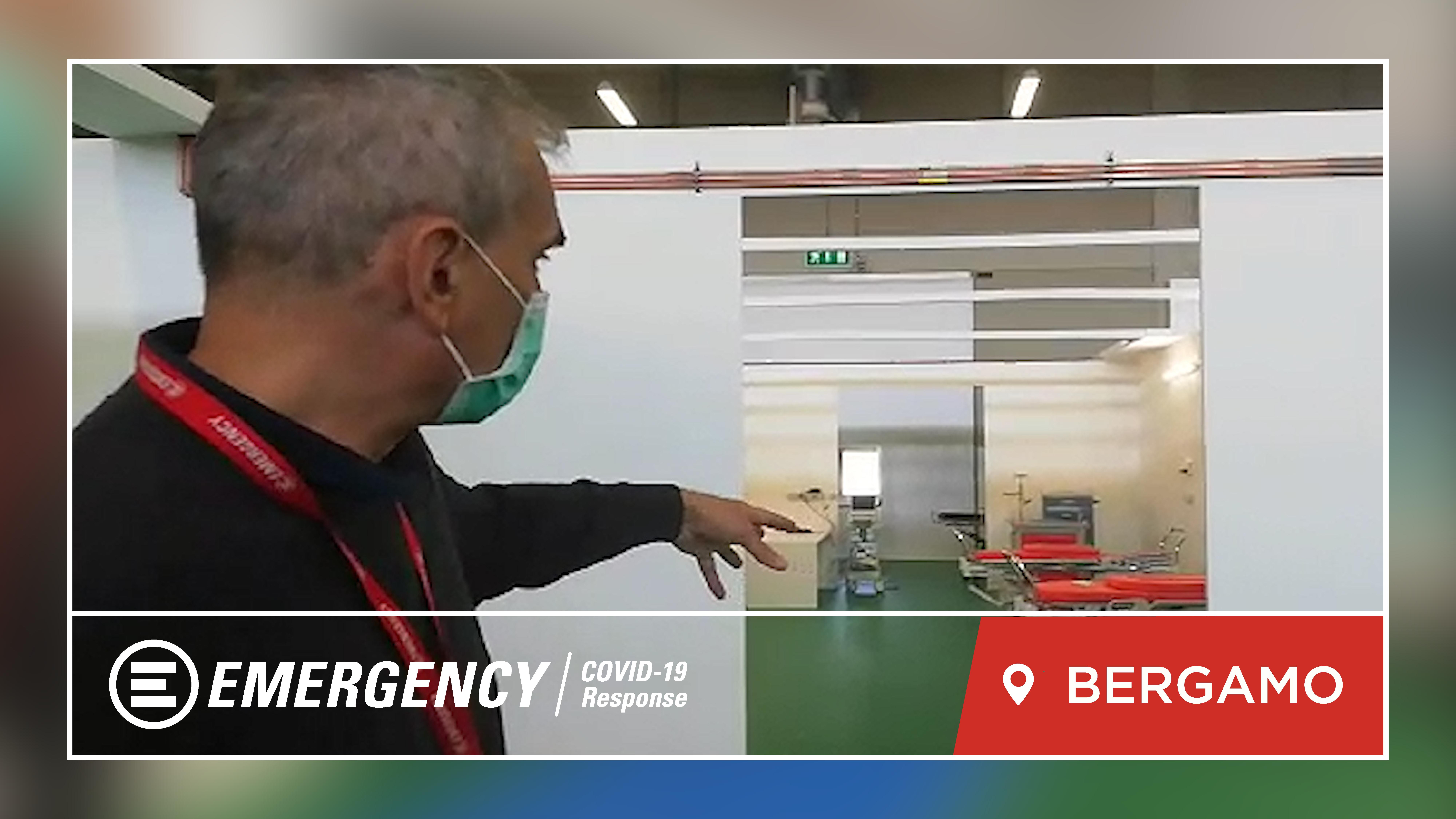 Bergamo Field Hospital: EMERGENCY Is Doing Its Bit To Combat The COVID-19
